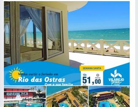 Campanha Semana Santa Vilarejo Praia Hotel