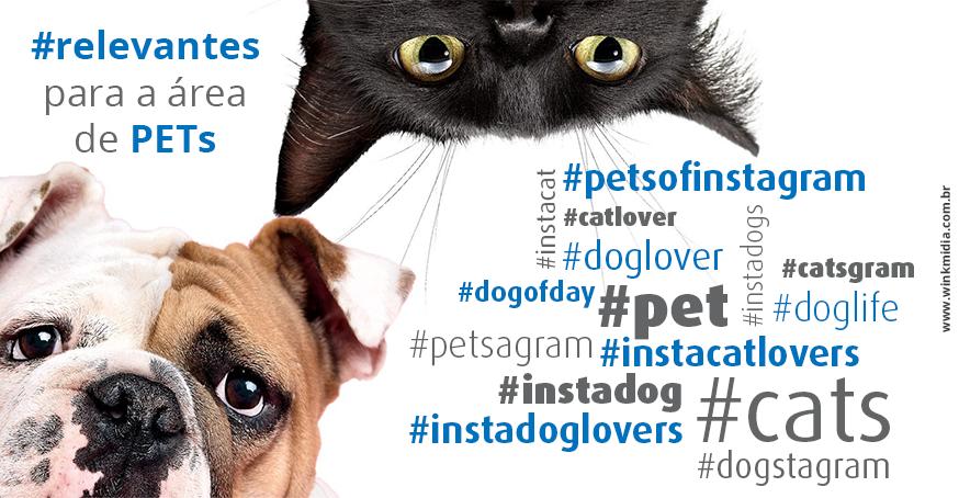 dicas de hashtags voltadas para o segmento pets